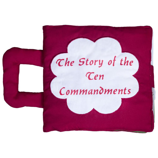 The Story of the Ten Commandments Maroon Playbook 7590