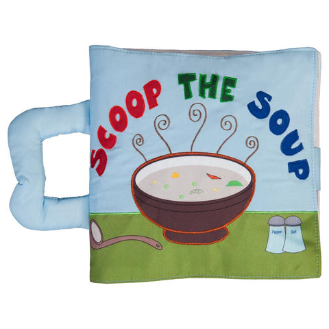 Scoop the Soup Blue Trilingual Playbook 7595