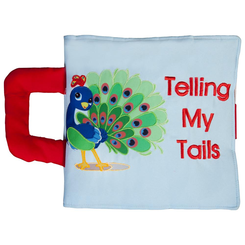 Telling My Tails Blue Trilingual Playbook 7597
