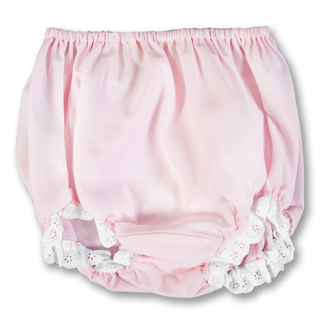 Girl Pink Diaper Cover with Lace AYR 924 B
