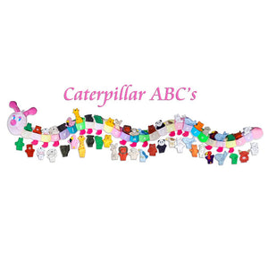 Caterpillar ABC's Educational Wall Hanging Pink Head FO0049G