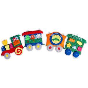 Circus Train Wall Hanging SSC FO5439