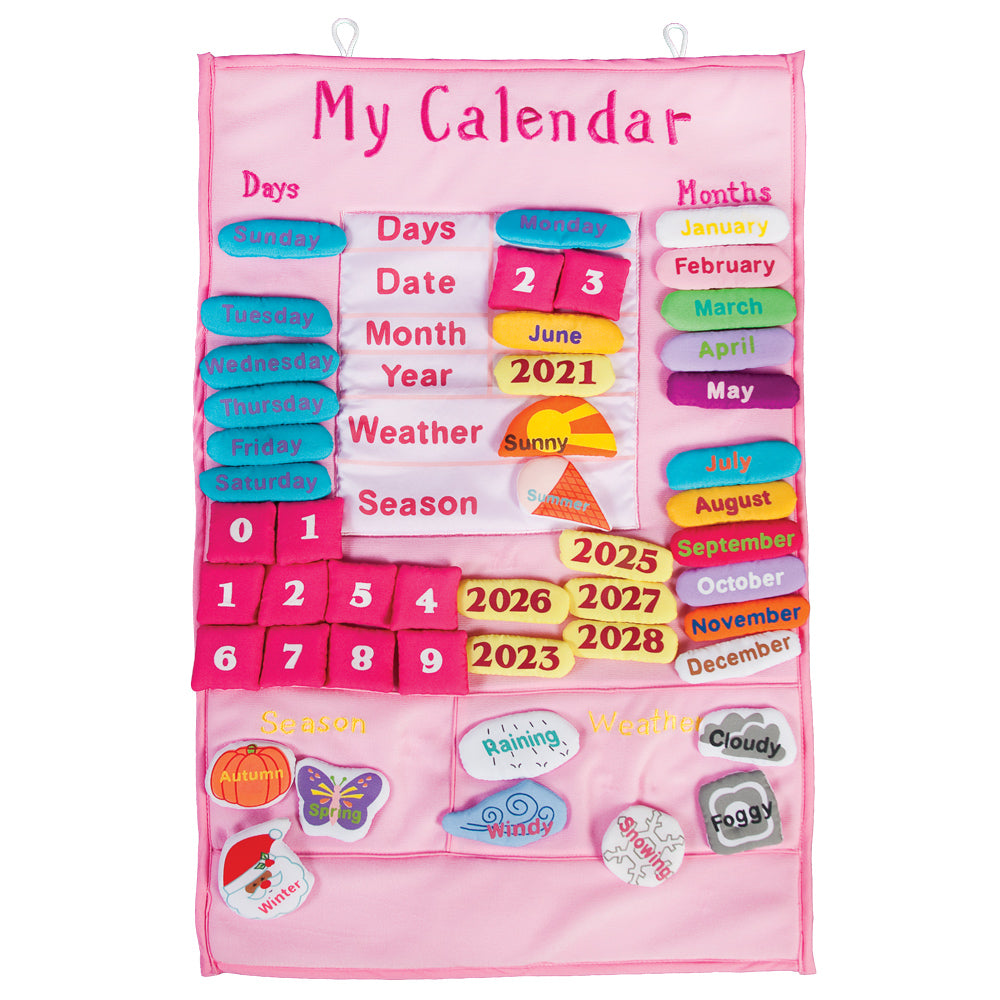 Pink My Calendar Wall Hanging SSC FO 6930 P