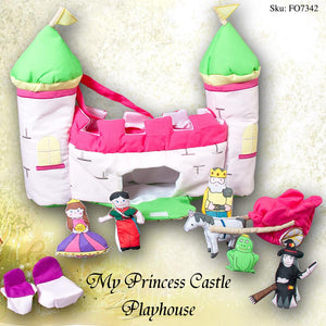 My Pink Princess Castle Playhouse FO7342