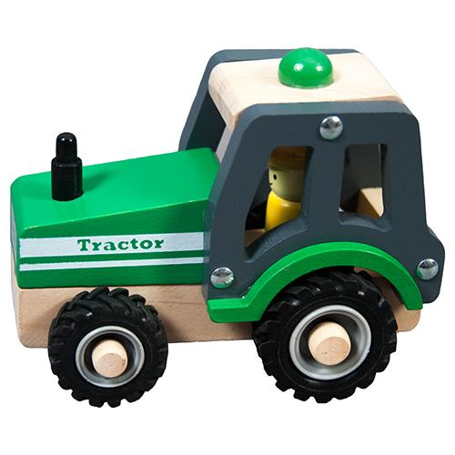 Wooden Tractor TL22120A