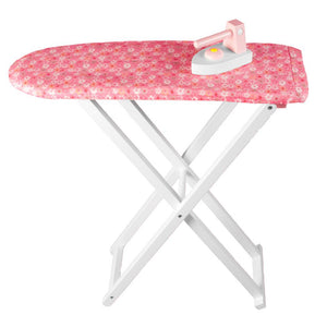 Wooden Doll Ironing Board and Iron TL60061