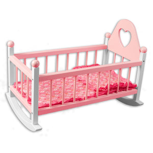 Wooden Doll Cradle TL60062