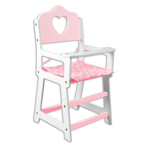 Wooden Doll High Chair TL60065
