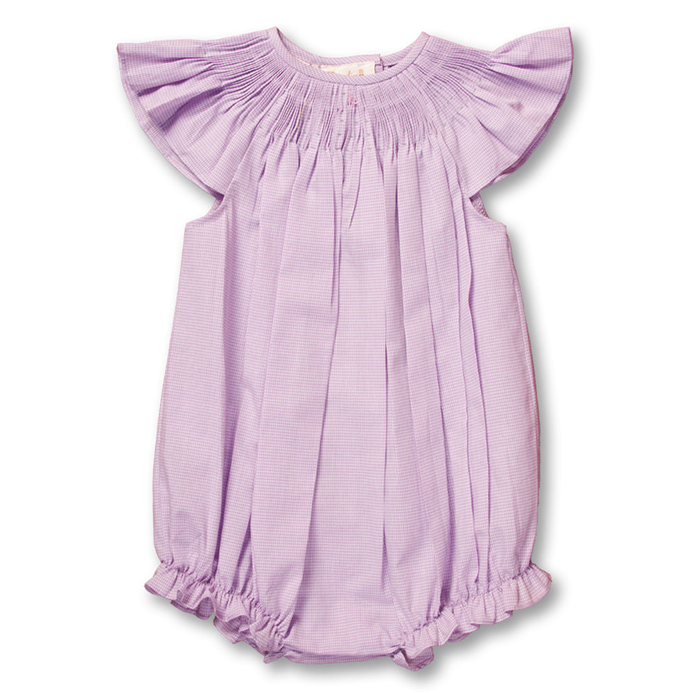 Purple Angel Sleeve Ready-to-Smock Bubble AYR 4900 BG