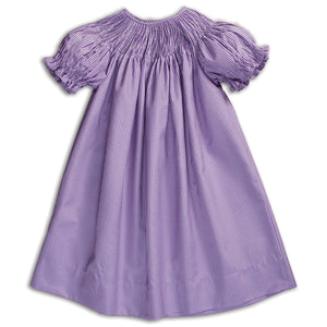 Purple Gingham Ready-to-Smock Bishop AYR 5844 A PUR