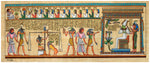 "Poster - Print of an Egyptian water color ""Judgement Day"""
