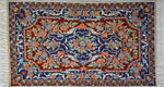 Classical Design  - Embroidered Silk Rug / Wall Hanging - Exquisiti