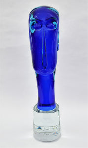 Homage to Modigliani - Murano Artwork from Glass Master Furlan Walter