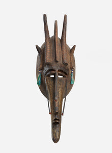 Poster - of a distinctive Mask from Mali