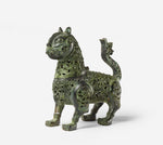 Poster - of an antique bronze lion from China