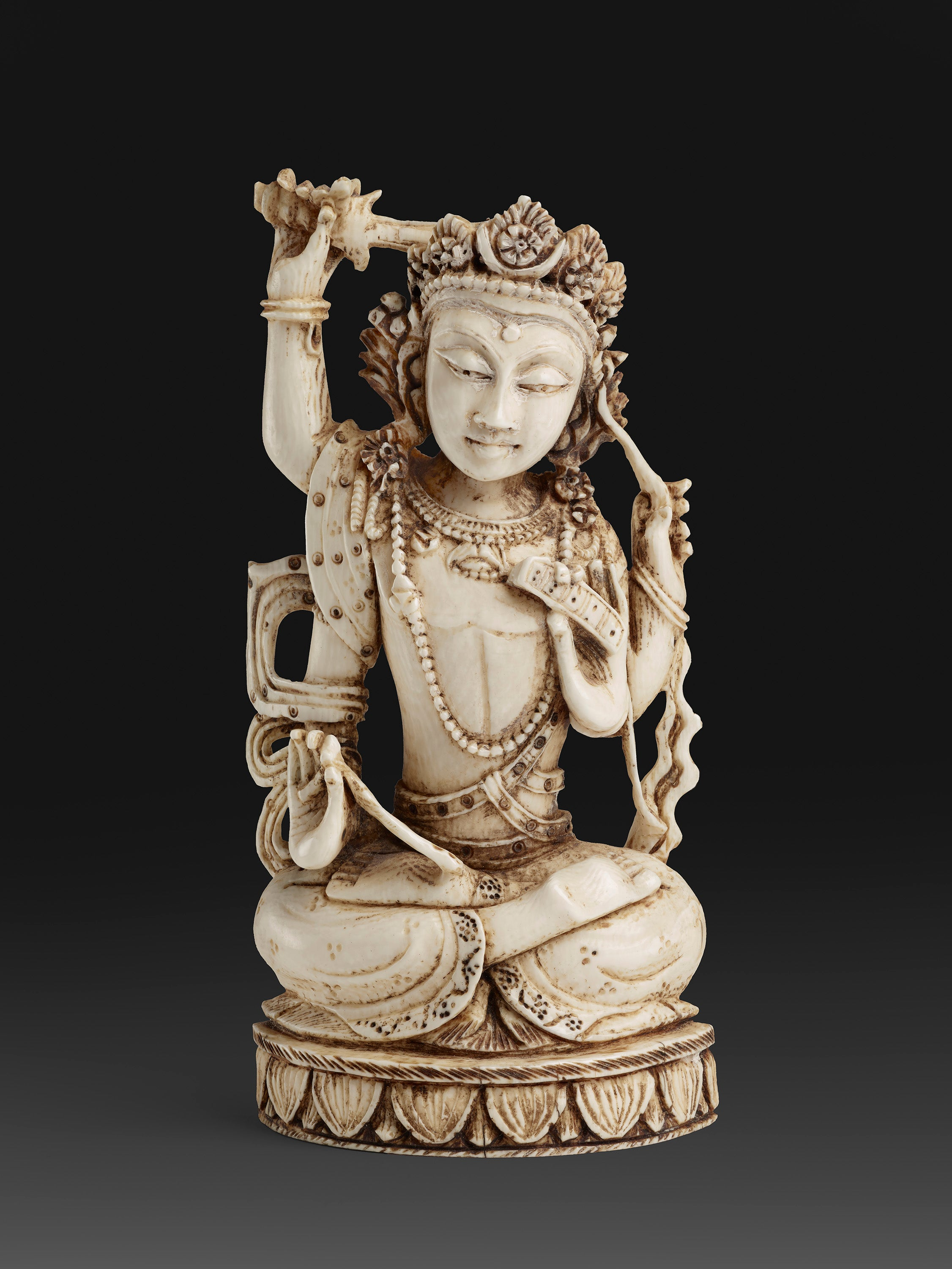 Poster - of an antique figurine from India