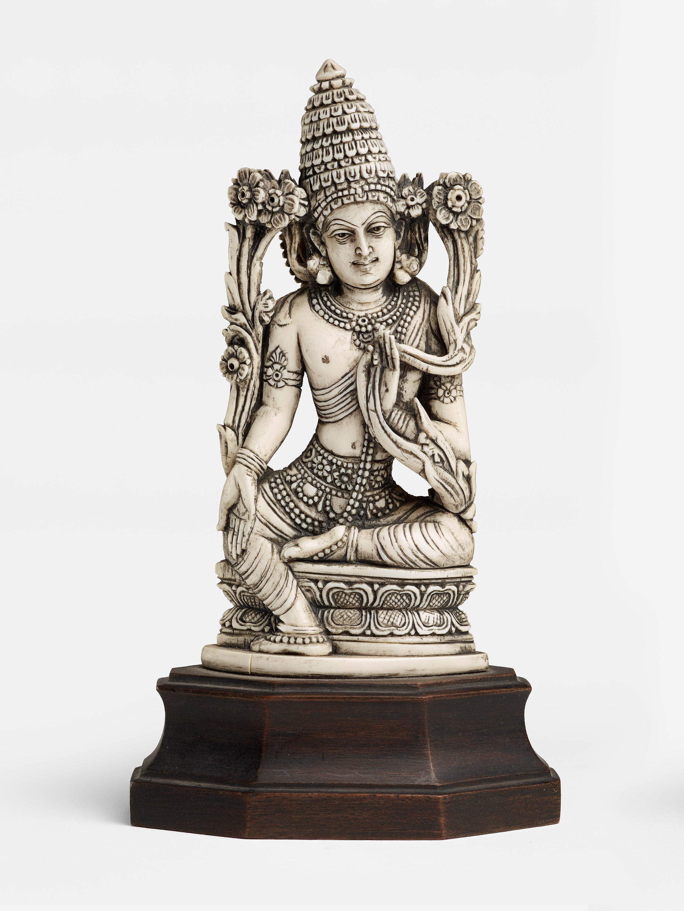 Poster - of a statuette of seated lord from India