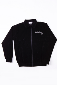 Velours Jacket Black
