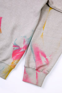 SUSTAINABLE Colors Spray Lavish Lifestyle Sweat Brodé