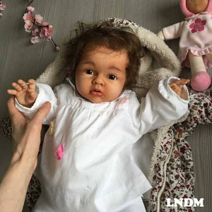 CUSTOM ORDER Reborn Doll Baby Girl or boy  Lenya by Reva Schick 3/4 arms Full Legs 22 inches 8-9lbs. (Reborn Babies) - mylittlestblessings.myshopify.com reborn baby, reborn doll, art dolls, custom babies, reborn babies