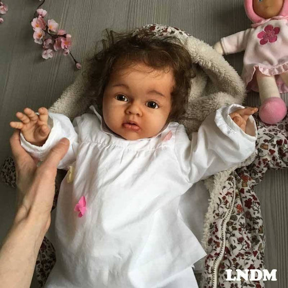 CUSTOM ORDER Reborn Doll Baby Girl or boy  Lenya by Reva Schick 3/4 arms Full Legs 22 inches 8-9lbs. (Reborn Babies)
