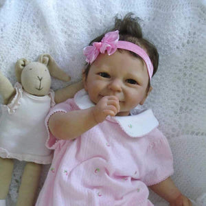 CUSTOM ORDER Reborn Doll Baby Girl or boy  Rieke by Linde Scherer 19 inches 4-6 lbs 3/4 legs Full arms . (Reborn Babies)