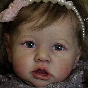 CUSTOM ORDER Reborn Doll Baby Girl or boy Saskia by Bonnie Brown Full Limbs 23 inches 7-9 lbs You Choose All The Details Layaway Available!