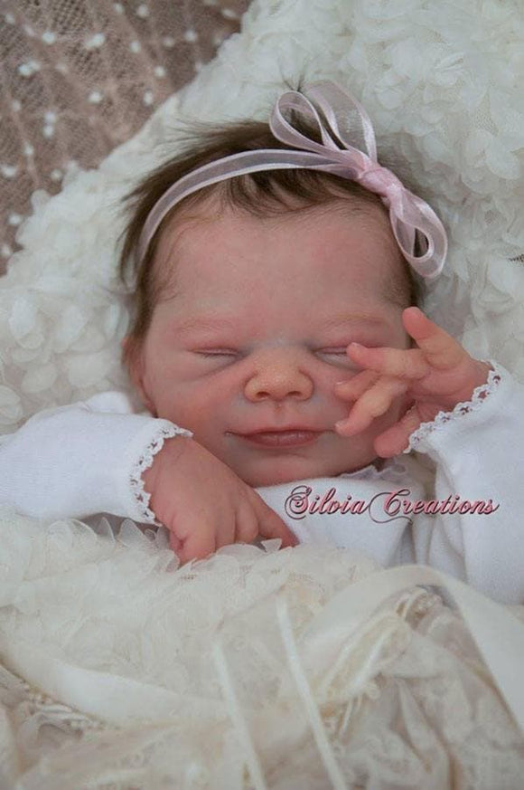CUSTOM ORDER Reborn Doll Baby Girl or boy LE Joy by Adrie Stoete 19 inches Full Limbs 5-7 lbs . (Reborn Babies) - mylittlestblessings.myshopify.com reborn baby, reborn doll, art dolls, custom babies, reborn babies