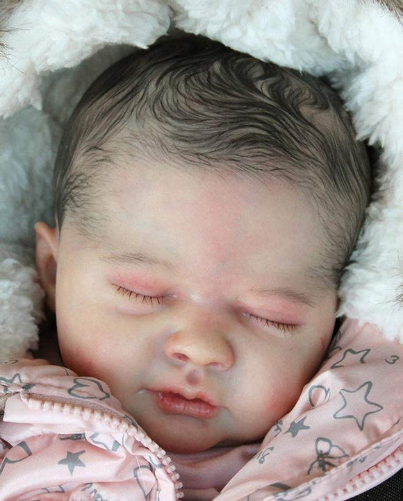 CUSTOM ORDER Reborn Doll Baby Girl or boy Liam by Marissa May  19 inches  4-6 lbs  Full Legs & 3/4 Arms You Choose All The Details Layaway Available!