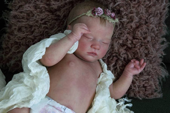 CUSTOM ORDER Reborn Doll Baby Girl or boy Realborn® Sleeping Laila 18 inches Full Limbs & You Choose All The Details Layaway Available!