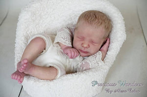 CUSTOM ORDER Reborn Doll Baby Girl or boy Realborn®  Rebekah Full Limbs 19 Inches 4-6 lbs You Choose All Details Layaway Available! - mylittlestblessings.myshopify.com reborn baby, reborn doll, art dolls, custom babies, reborn babies
