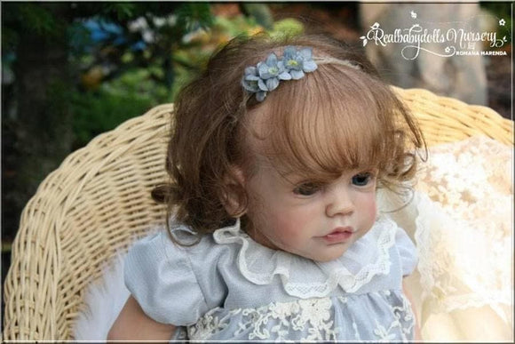 CUSTOM ORDER Reborn Doll Baby Girl or boy Maxi by Sigrid Bock 23 inches Full Limbs &  Limited Edition  7-8 lbs (Reborn Babies) - mylittlestblessings.myshopify.com reborn baby, reborn doll, art dolls, custom babies, reborn babies