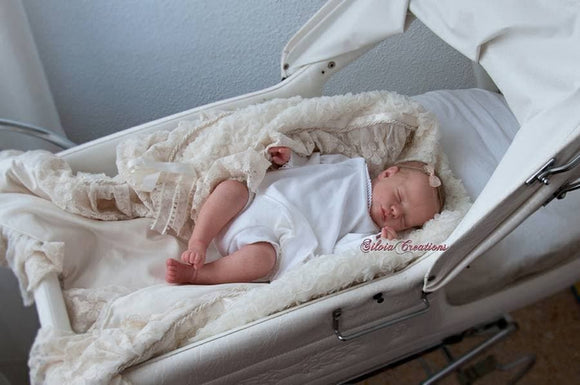 CUSTOM ORDER Reborn Doll Baby Girl or boy Realborn®  Priscilla Full Limbs 18 Inches 4-6 lbs You Choose All Details Layaway Available! - mylittlestblessings.myshopify.com reborn baby, reborn doll, art dolls, custom babies, reborn babies