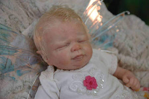 "CUSTOM ORDER Reborn Doll Baby Girl or boy Shylynn Fairy by Shawna Clymer 19"" FULL Limbs (Reborn Babies) - mylittlestblessings.myshopify.com reborn baby, reborn doll, art dolls, custom babies, reborn babies"