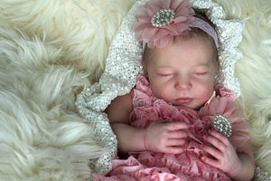 "CUSTOM ORDER Reborn Doll Baby Girl or boy Realborn® Sleeping Brittany Full Limbs 20""  4-6 lbs You Choose All Details Layaway Available! - mylittlestblessings.myshopify.com reborn baby, reborn doll, art dolls, custom babies, reborn babies"