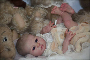 CUSTOM ORDER Reborn Doll Baby Girl or boy Mio by Elisa Marx 20 inches 3/4 arms & Full Legs (Reborn Babies) - mylittlestblessings.myshopify.com reborn baby, reborn doll, art dolls, custom babies, reborn babies
