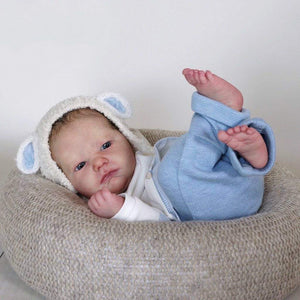 CUSTOM ORDER Reborn Doll Baby Girl or boy Realborn® Landon Awake  21 inches full limbs 5-7 lbs You Choose All Details Layaway Available! - mylittlestblessings.myshopify.com reborn baby, reborn doll, art dolls, custom babies, reborn babies