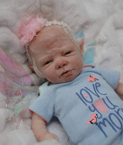 CUSTOM ORDER Reborn Doll Baby Girl or boy Opal Fairy by Shawna Clymer  14 inches FULL  Limbs You Choose All The Details Layaway Available!