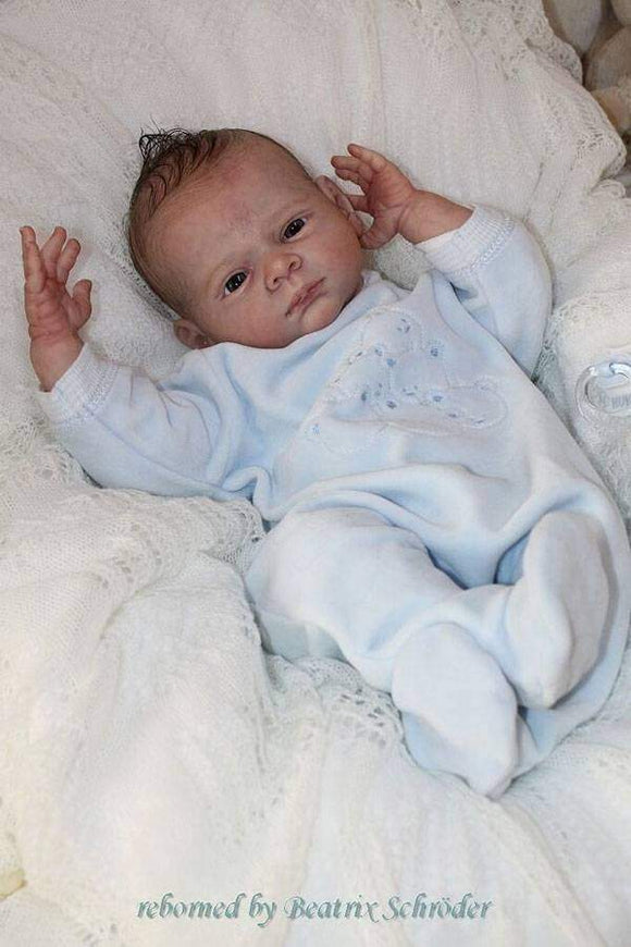 CUSTOM ORDER Reborn Doll Baby Girl or boy  Jakob by Karola Wegerich 20 inches  3/4 Arms & Legs 4-6 pounds (Reborn Babies) - mylittlestblessings.myshopify.com reborn baby, reborn doll, art dolls, custom babies, reborn babies