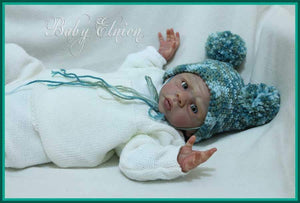CUSTOM ORDER Reborn Doll Baby Girl or boy Josiah by Laura Tuzio Ross 19 inches 3/4 arms full legs 4-6 lbs . You Choose All The Details Layaway Available!