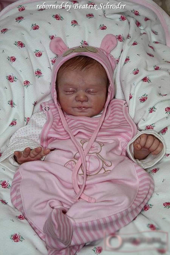 CUSTOM MADE Reborn Doll Baby Girl or boy  Maja by Christa Gotzen 20 inches   3/4 arms  3/4 legs 5-8 lbs (Reborn Babies) - mylittlestblessings.myshopify.com reborn baby, reborn doll, art dolls, custom babies, reborn babies