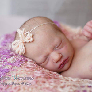 CUSTOM ORDER Reborn Doll Baby Girl or boy Realborn® Jaycee Sleeping 18 inches Full limbs  4-6 lbs You Choose All The Details Layaway Available!
