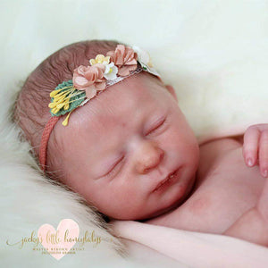 CUSTOM ORDER Reborn Doll Baby Girl or boy Realborn® Aria Sleeping 17 inches Full limbs  4-6 lbs You Choose All Details Layaway Available! - mylittlestblessings.myshopify.com reborn baby, reborn doll, art dolls, custom babies, reborn babies
