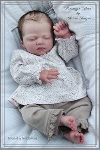 CUSTOM MADE Reborn Doll Baby Girl or boy  Yona by Christa Gotzen  19 inches 5-7 lbs 3/4 arms & Full legs . (Reborn Babies) - mylittlestblessings.myshopify.com reborn baby, reborn doll, art dolls, custom babies, reborn babies