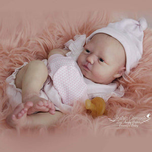 CUSTOM ORDER Reborn Doll Baby Girl or boy Realborn®  Zuri Awake Full Limbs  19 Inches 4-6 lbs You Choose All Details Layaway Available! - mylittlestblessings.myshopify.com reborn baby, reborn doll, art dolls, custom babies, reborn babies