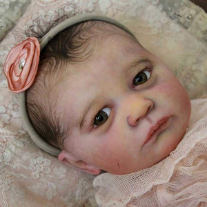"CUSTOM ORDER Reborn Doll Baby Girl or boy Realborn® Skya Awake OR Asleep 19"" full limbs 5-7 lbs You Choose All Details Layaway Available! - mylittlestblessings.myshopify.com reborn baby, reborn doll, art dolls, custom babies, reborn babies"