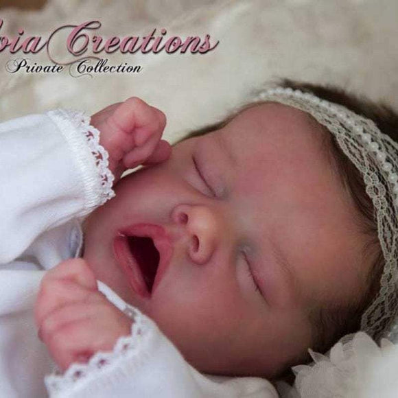 CUSTOM MADE Reborn Doll Baby Girl or boy Twin A by Bonnie Brown 17 inches  3-4 lbs (Reborn Babies) - mylittlestblessings.myshopify.com reborn baby, reborn doll, art dolls, custom babies, reborn babies