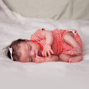 CUSTOM ORDER/Made To Order Reborn Doll Baby Girl or boy  Preemie Megan by Pat Moulton . 16 inches Full limbs 5-8. Vinyl. (Reborn Babies) - mylittlestblessings.myshopify.com reborn baby, reborn doll, art dolls, custom babies, reborn babies