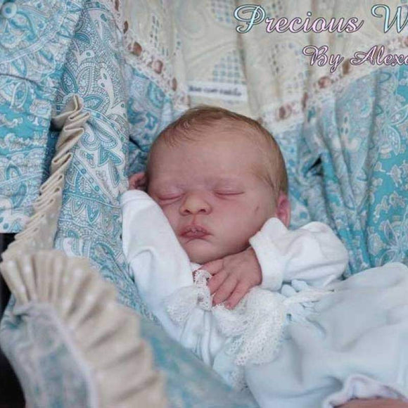 CUSTOM ORDER/Made To Order Reborn Doll Baby Girl or boy  Noa By Gudrun Legler 19 inches 3/4 Arms Full Legs 5-7 pounds . (Reborn Babies) - mylittlestblessings.myshopify.com reborn baby, reborn doll, art dolls, custom babies, reborn babies