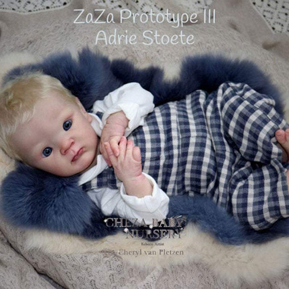 CUSTOM ORDER/Made To Order Reborn Doll Baby Girl or boy ZaZa By Adrie Stoete 20 inches  4-6  lbs Full Limbs (Reborn Babies)